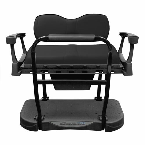 MadJax Genesis 250 Rear Flip Seat with Deluxe (Black) Cushions