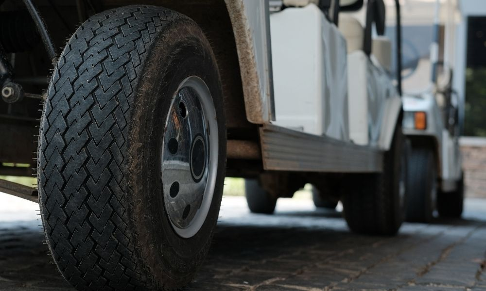Golf Cart Tire and Wheel Sizes