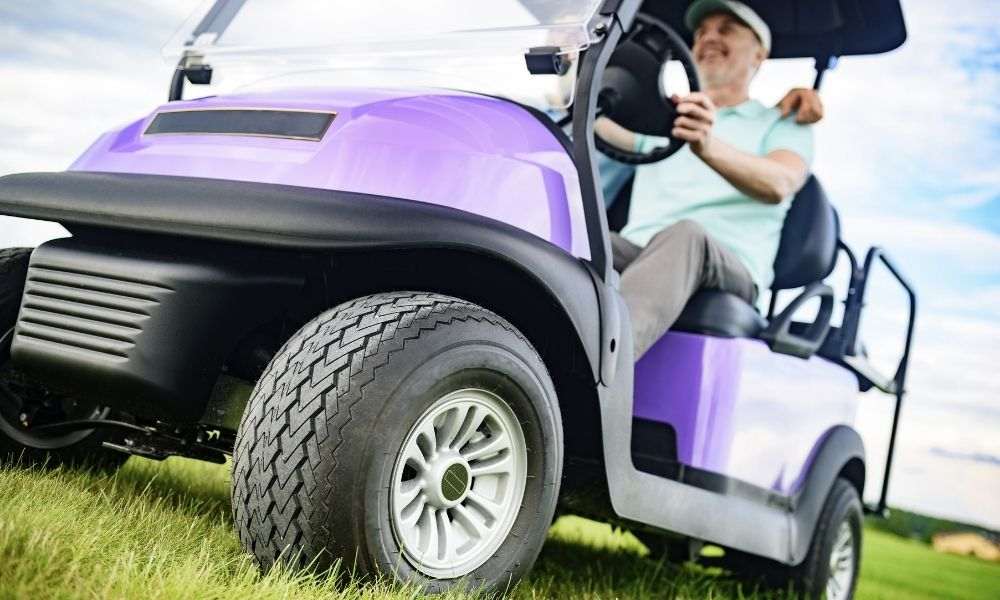 Picking the Right Wheel and Tire Combination for Your Golf Cart