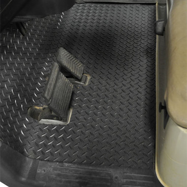 Wheel To Wheel Nerf Bars >> Madjax Replacement Diamond Plated Floor Mat - Fits EZ-GO RXV