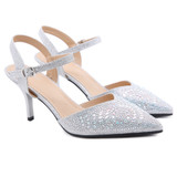 Kinsley Silver Heels