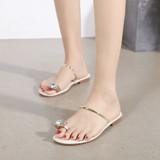 Maya Gold Sandals