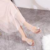 Alice Silver Sandals