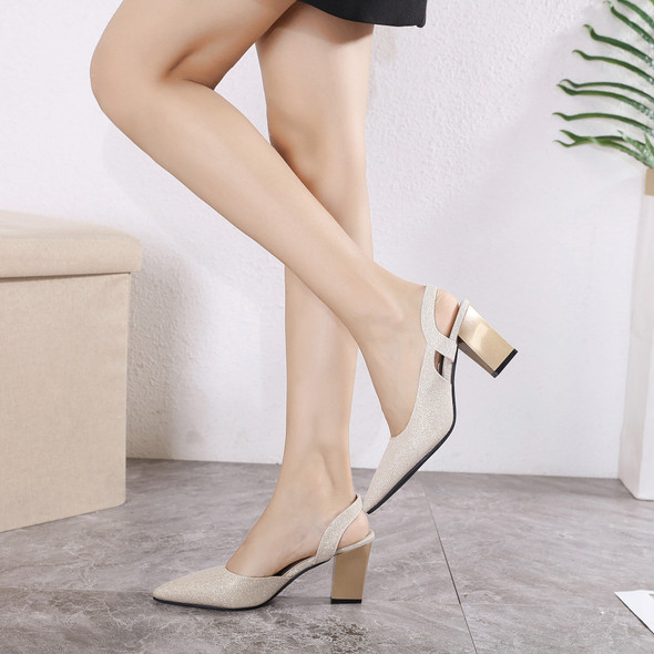 Savannah Gold Heels
