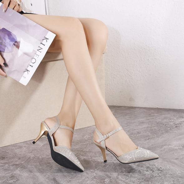 Kinsley Gold Heels