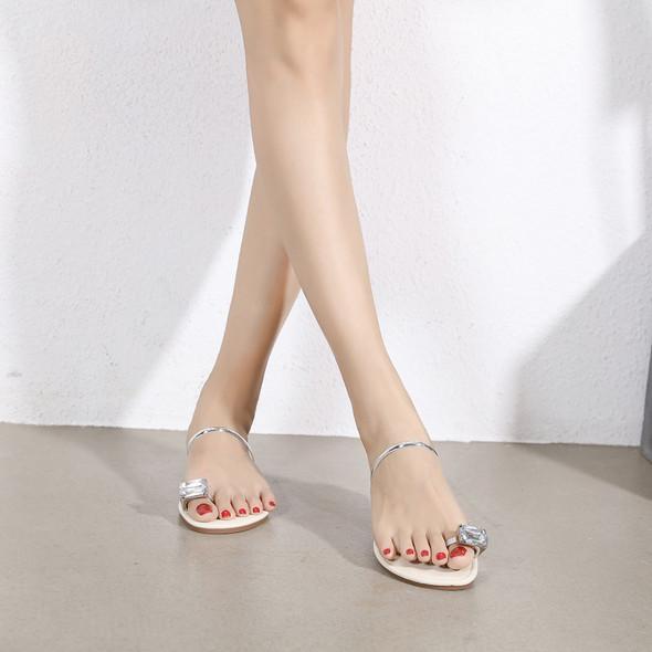 Maya Silver Sandals