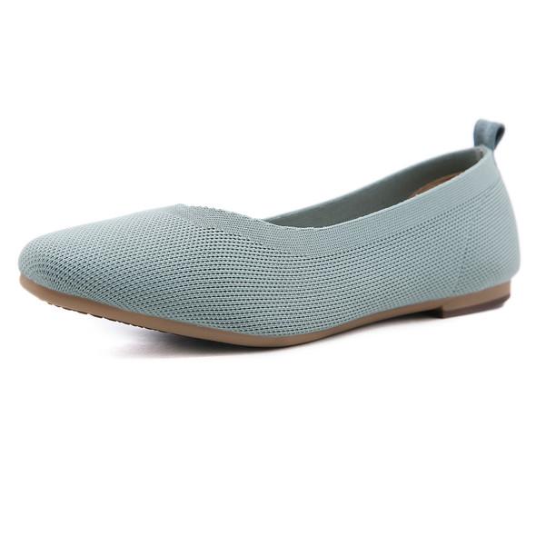 Caroline Blue Flats