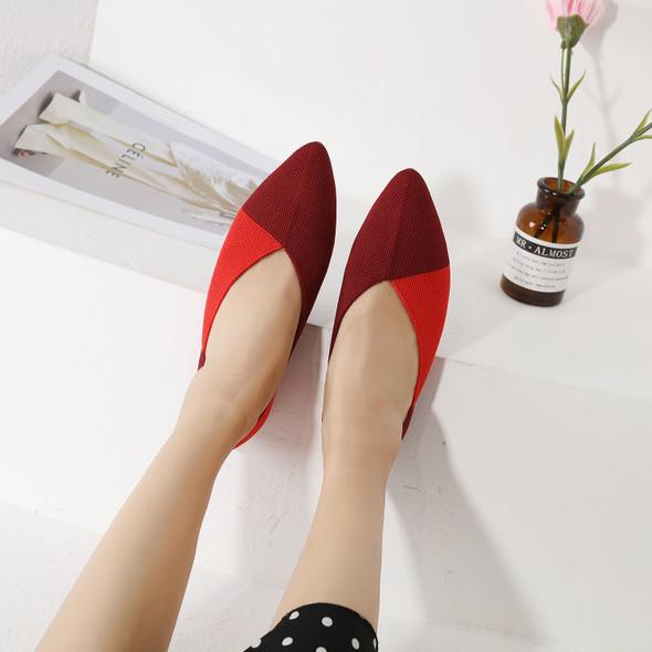 June Red Flats