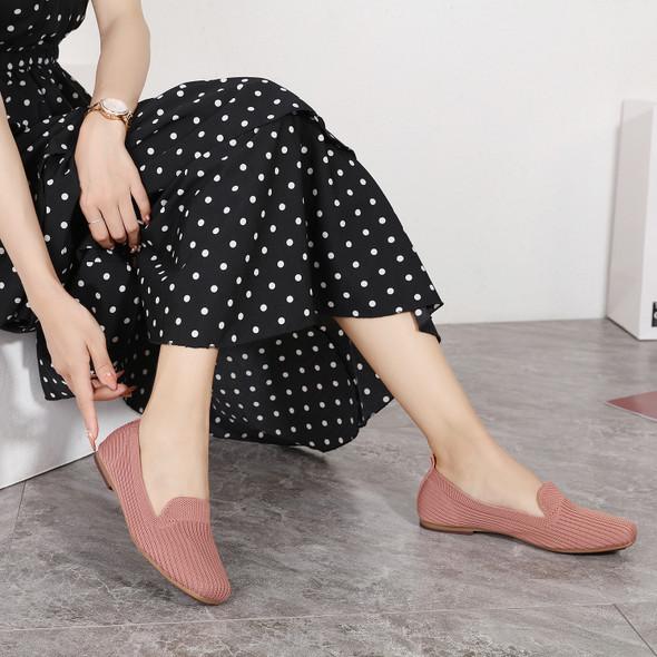 Freya Pink Flats