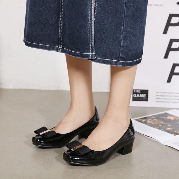Alana Black Heels
