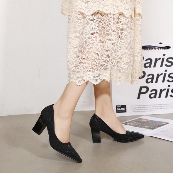 Alyssa Black Heels