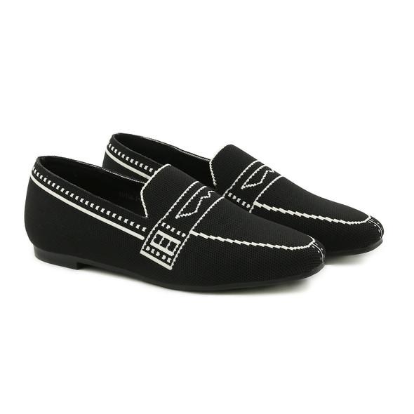 Marley Black Loafers