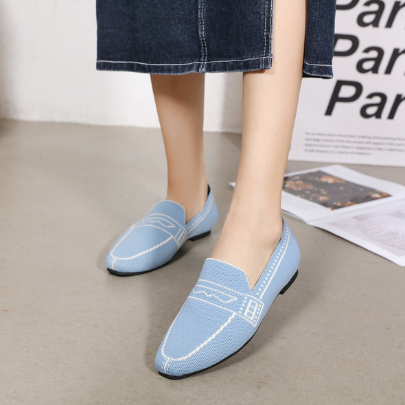 Marley Blue Loafers