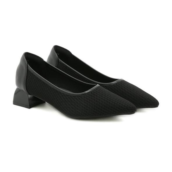 Vanessa Black Heel