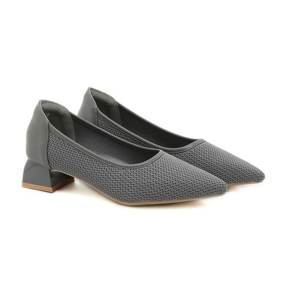 Vanessa Grey Heels