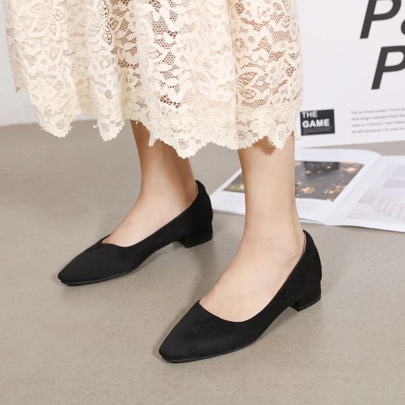 Teagan Black Heels