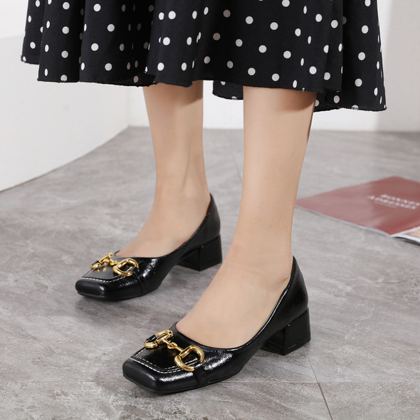 Valeria Black Heels