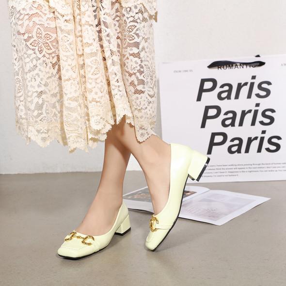 Valeria Cream Heels