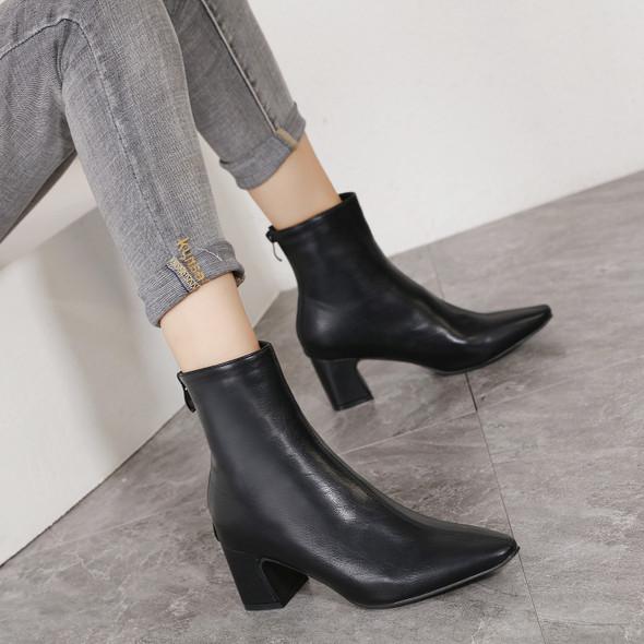 Clarinda Black Boots