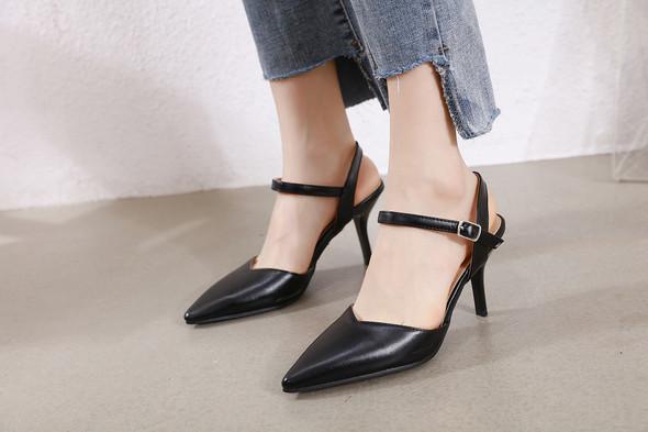 Violet Black Heels