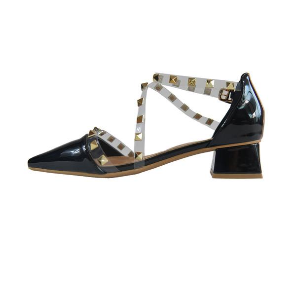 Avery Black Heels
