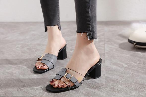 Brooklyn Grey Heels