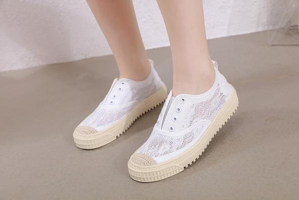 Sadie White Sneakers