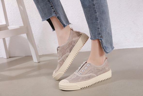 Sadie Khaki Sneakers