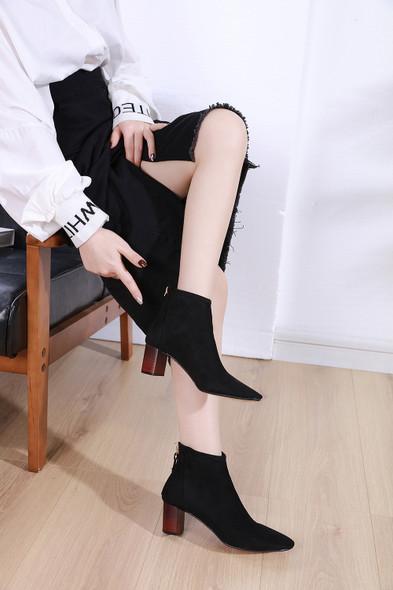 Amelia Black Boots