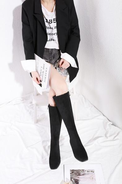 Mia Matte-Black Boots