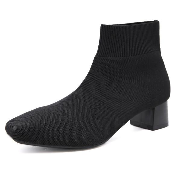 Ava Black Boots