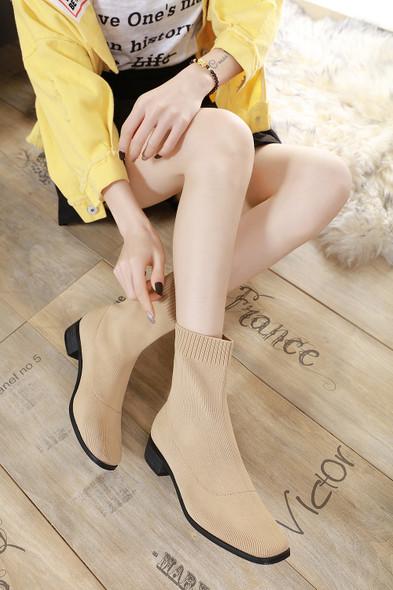 Olivia Beige Boots