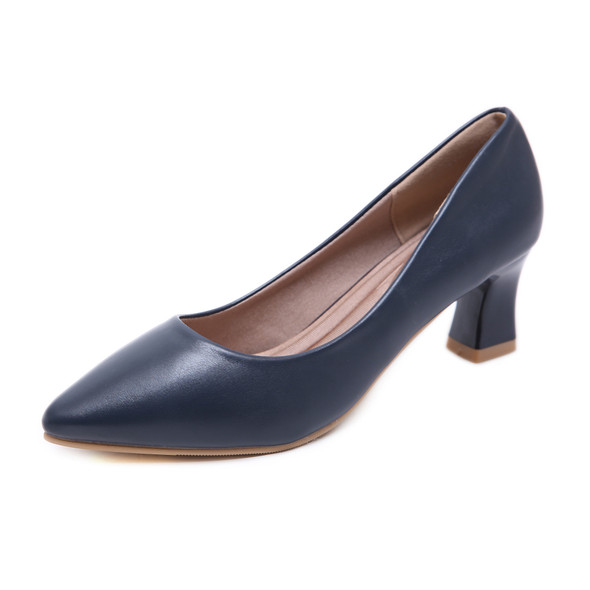 Addison Blue Heels