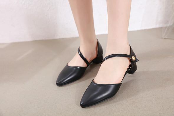 Delilah Black Heels