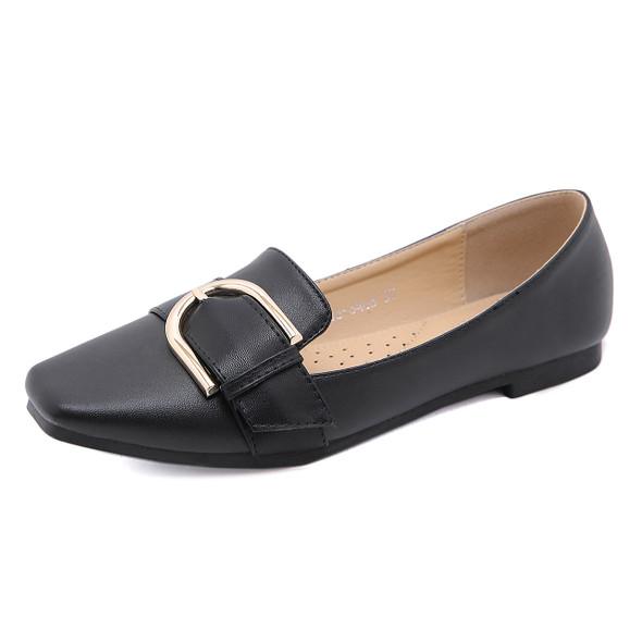 Kira Black Flats - 30% off online only