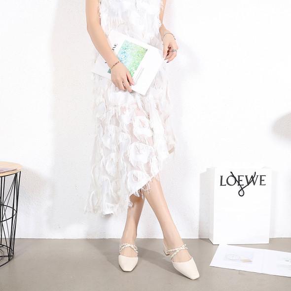 Monica White Heels