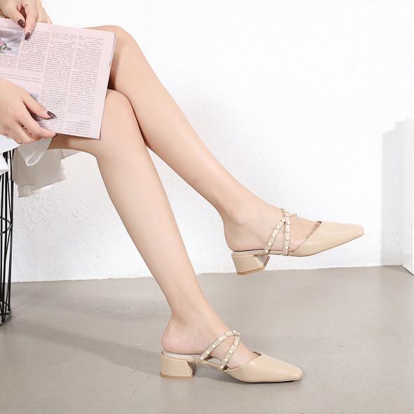 Monica Beige Heels