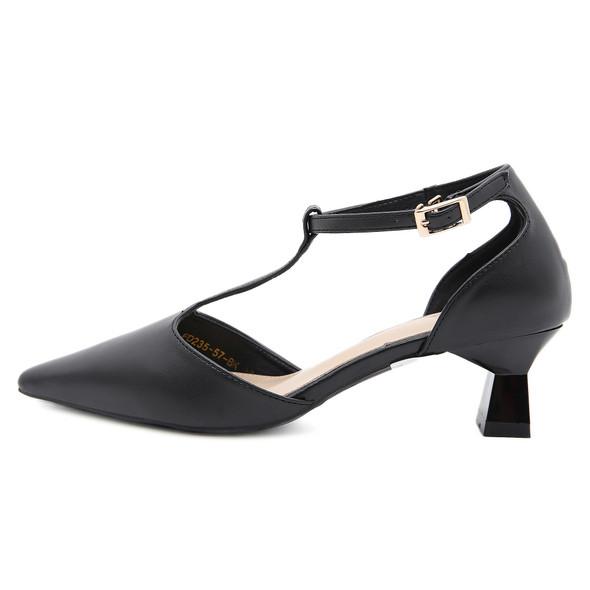 Lara Black Heels
