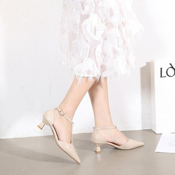 Lara Beige Heels