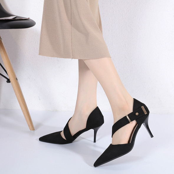 Sonja Black Heels