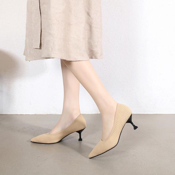 Luna Beige Heels