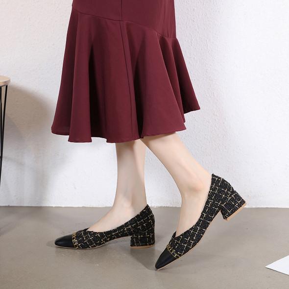 Janine Black Heels