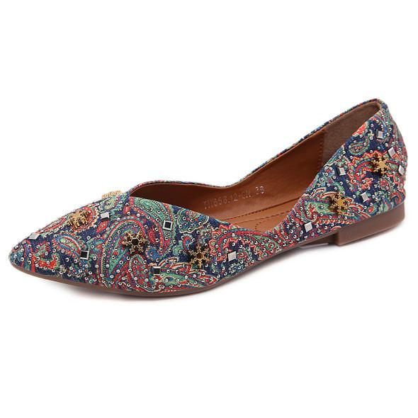 Anna Multicolored Flats