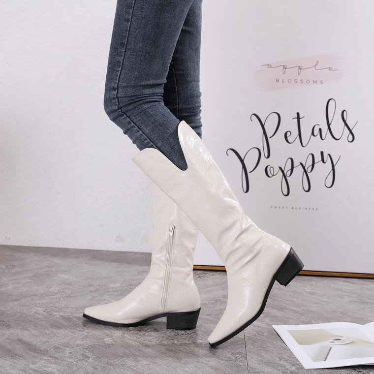 Sierra White Boots