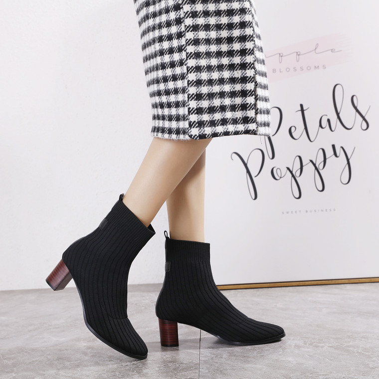Gianna Black Boots