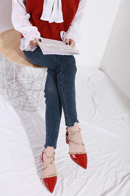 Cameron Red Heels