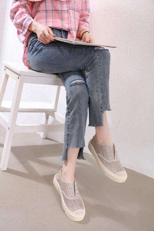 Sadie Khaki Sneakers- online 30% off