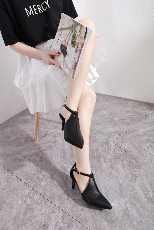 Andrea Black Heels