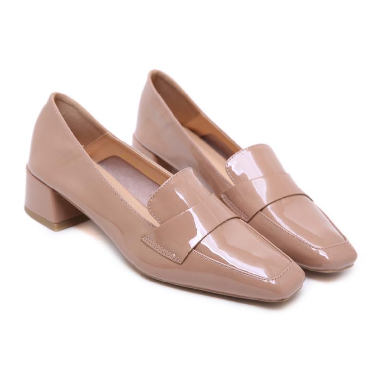 Carly Beige Heels