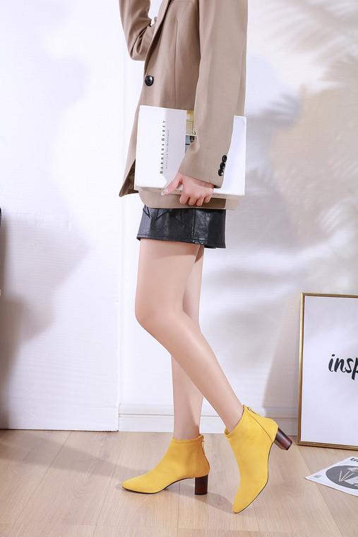 Amelia Yellow Boots